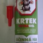 Účinná gelová pasta na krtky, hryzce a hraboše, 300 ml